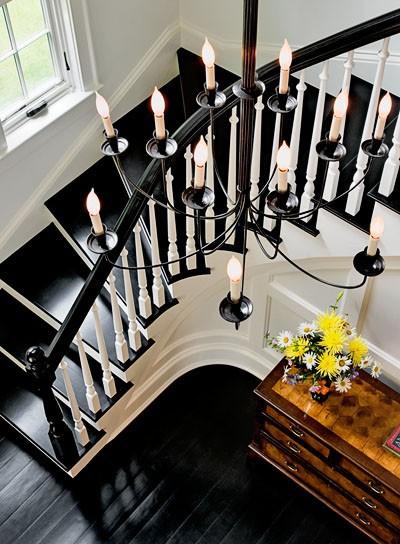 Hall d'entrée et escaliers