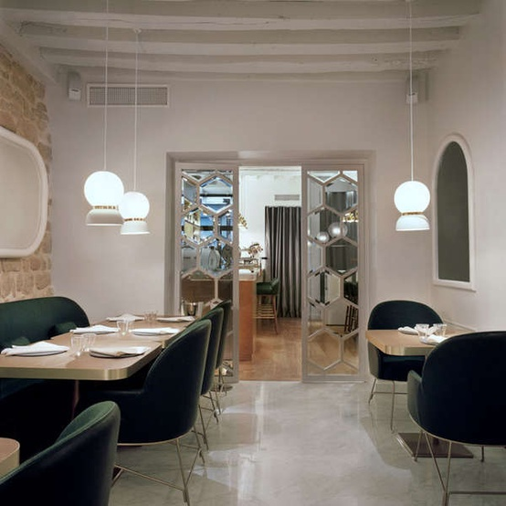 La d co de restaurant de mes r ves cocon de d coration le blog for Deco resto