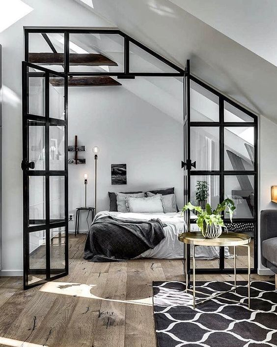 10 id es pour am nager sa chambre coucher 1 re partie cocon d co vie nomade. Black Bedroom Furniture Sets. Home Design Ideas