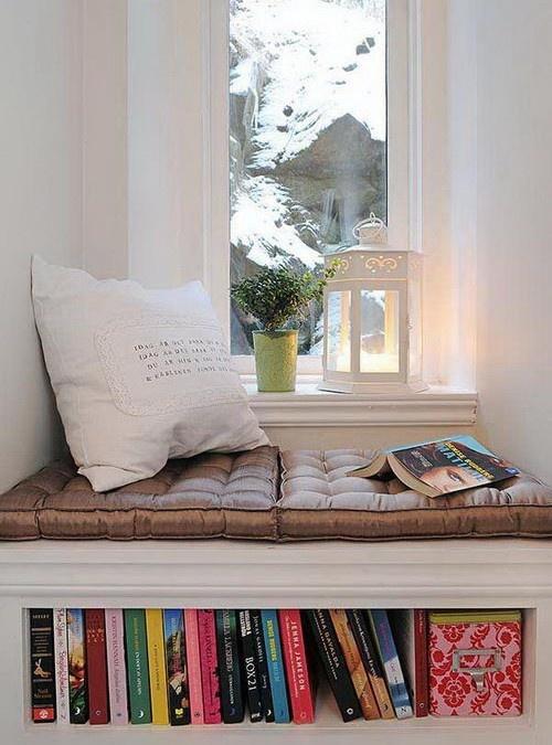 Petit espace: canapé en alcove | | Cocon - déco & vie nomade