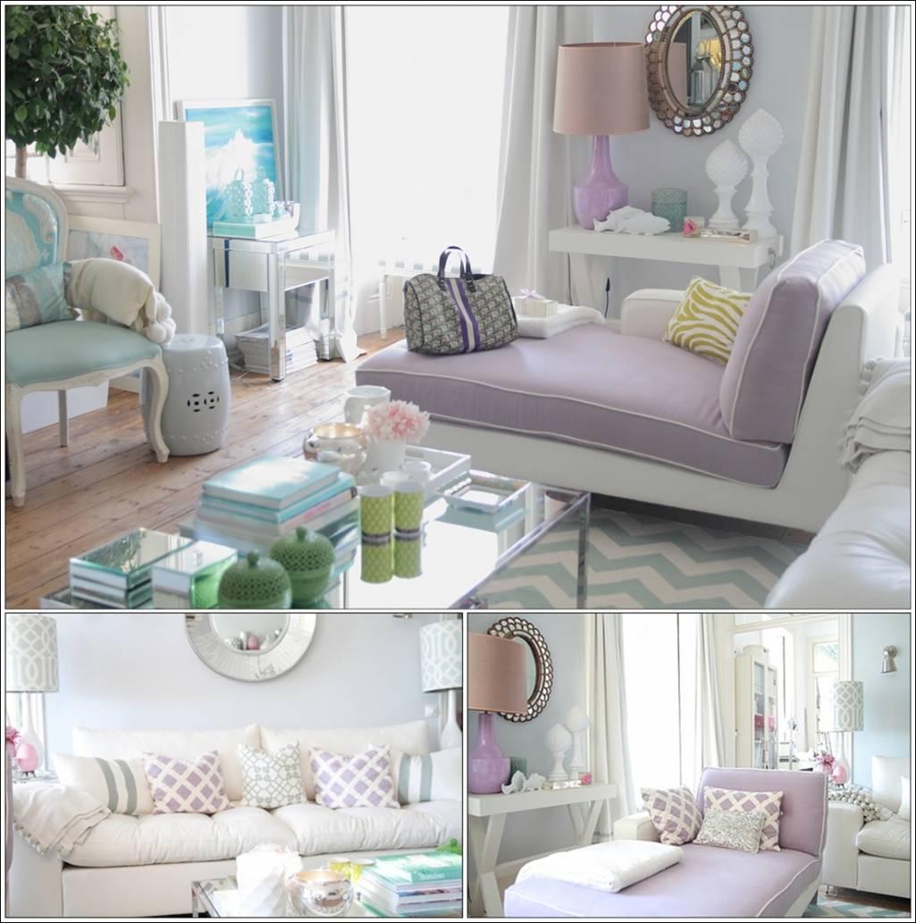 d coration salon couleur pastel. Black Bedroom Furniture Sets. Home Design Ideas