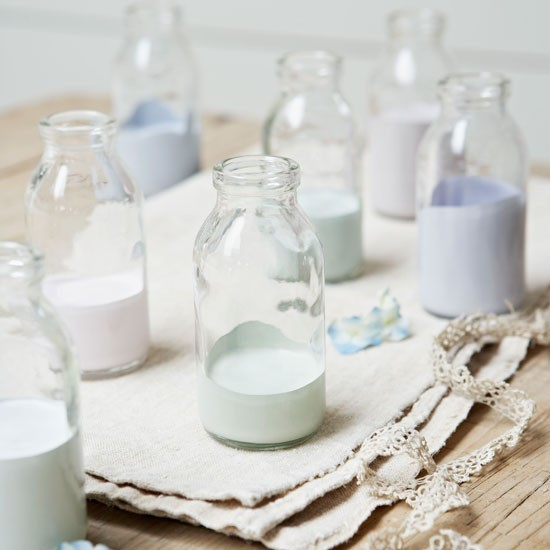 vase peinture pastel