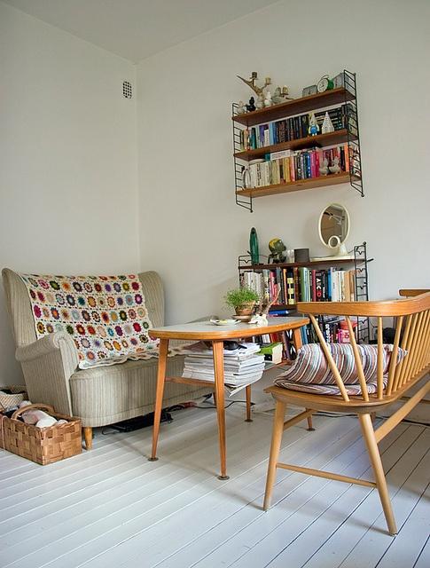 Id es en vrac pour un salon qui vous ressemble cocon de for Salon vintage lorient