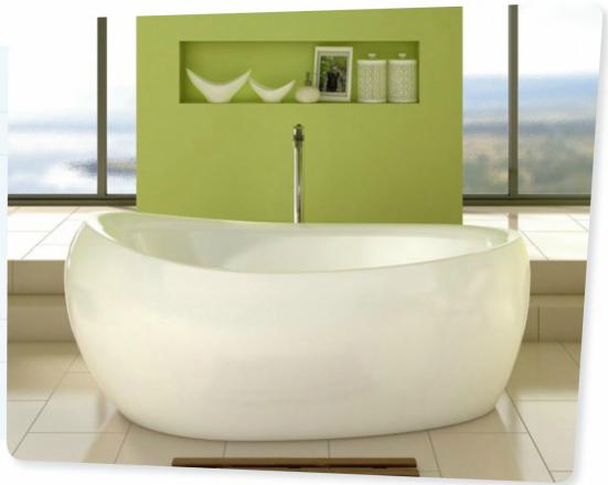 Salle de bains design et épurée | | Cocon - déco & vie nomade