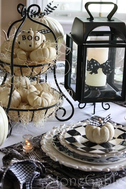 decoration de table halloween
