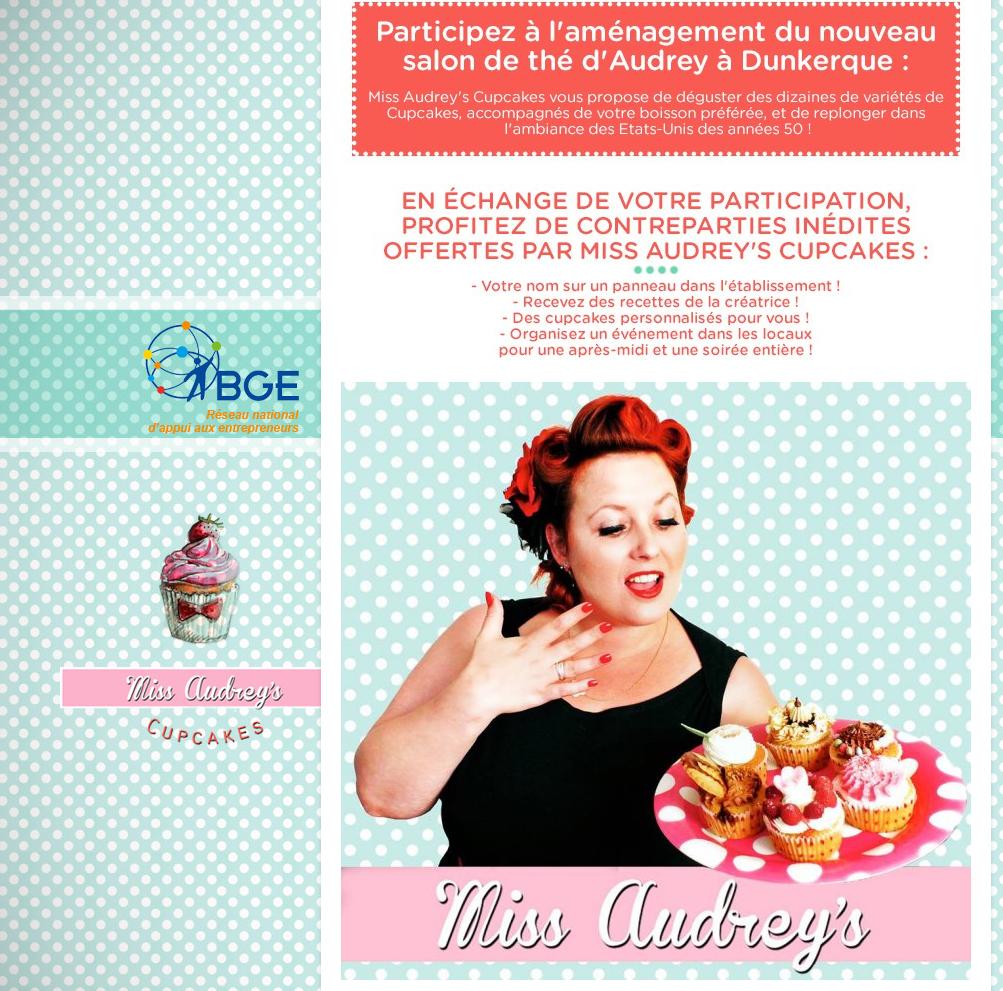 Cocon Déco Vie Nomade: Miss Audrey's Cupcakes, Un Salon De Thé Pas Comme Les