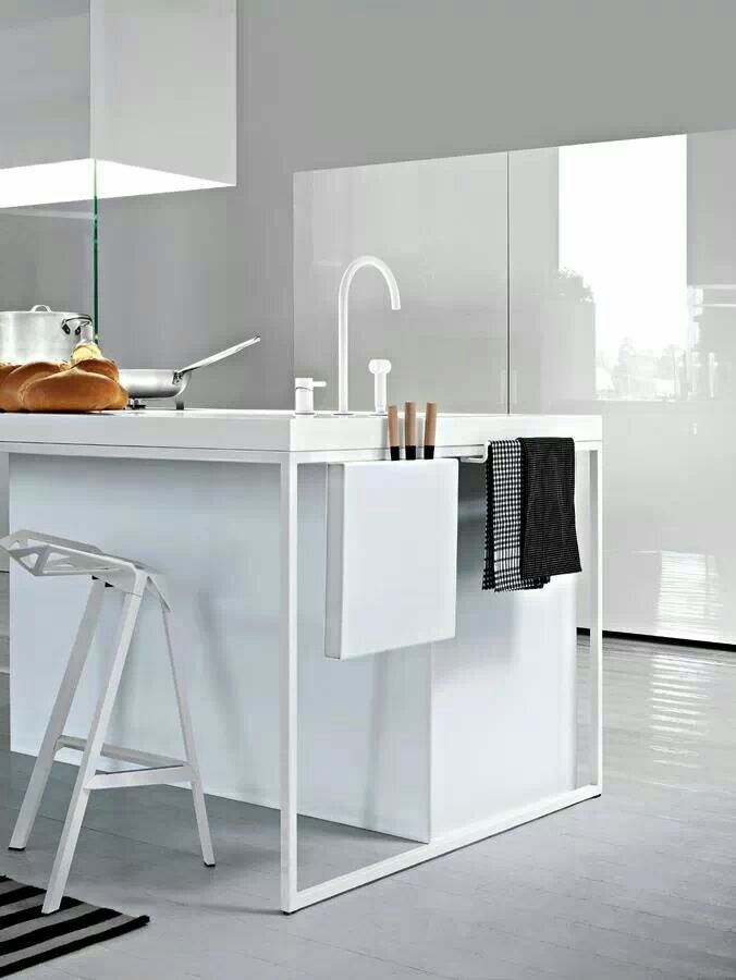Inspirations Déco: Cuisines Blanches