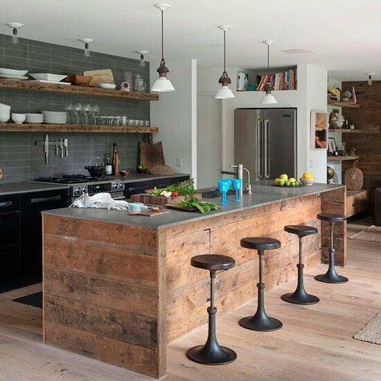 Cuisine industrielle cocon de d coration le blog - Vaisselle contemporaine moderne ...