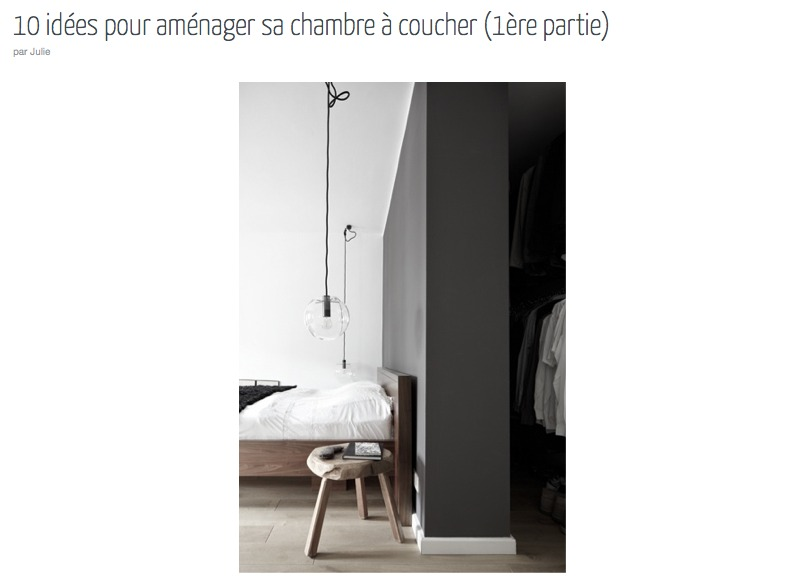 la chambre d coration et am nagement cocon d co vie nomade. Black Bedroom Furniture Sets. Home Design Ideas