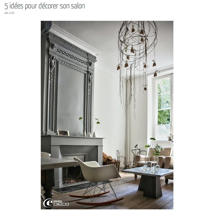 conseils d co salon id e inspirante pour la. Black Bedroom Furniture Sets. Home Design Ideas