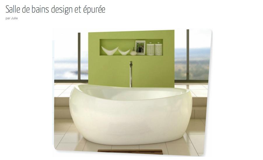 Salle de bain inspirations cocon d co vie nomade - Inspiration salle de bain ...