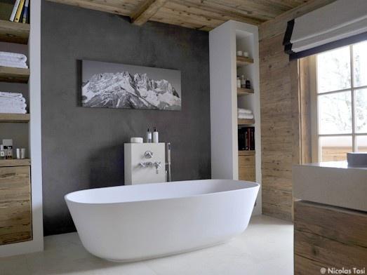 Salle de bain inspirations cocon de d coration le blog - Idee deco de salle de bain ...