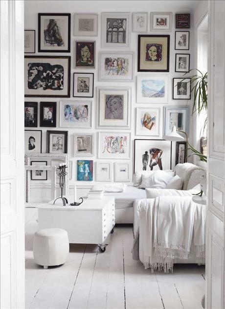 des cadres des cadres et encore des cadres cocon de d coration le blog. Black Bedroom Furniture Sets. Home Design Ideas
