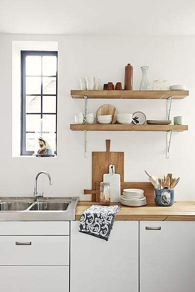 inspiration cuisine rangements ouverts cocon d co vie nomade. Black Bedroom Furniture Sets. Home Design Ideas