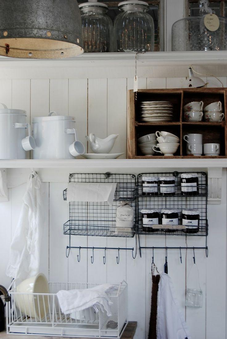 Inspiration cuisine – rangements ouverts – Cocon de décoration le blog