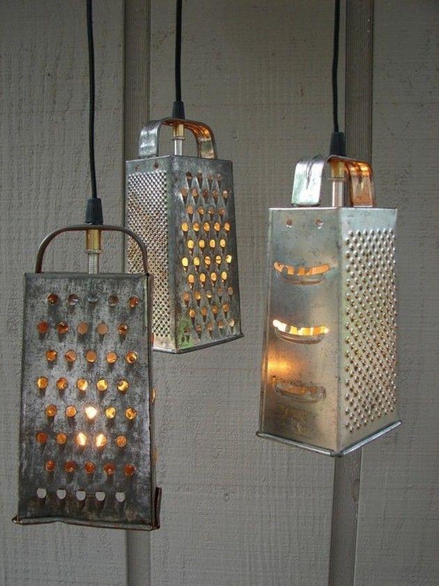decoration luminaire detournement