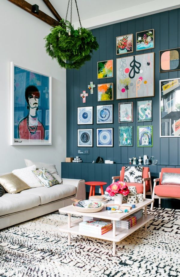 Des cadres des cadres et encore des cadres cocon de d coration le blog for Pinterest decoration salon