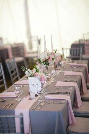 decoration simple mariage table