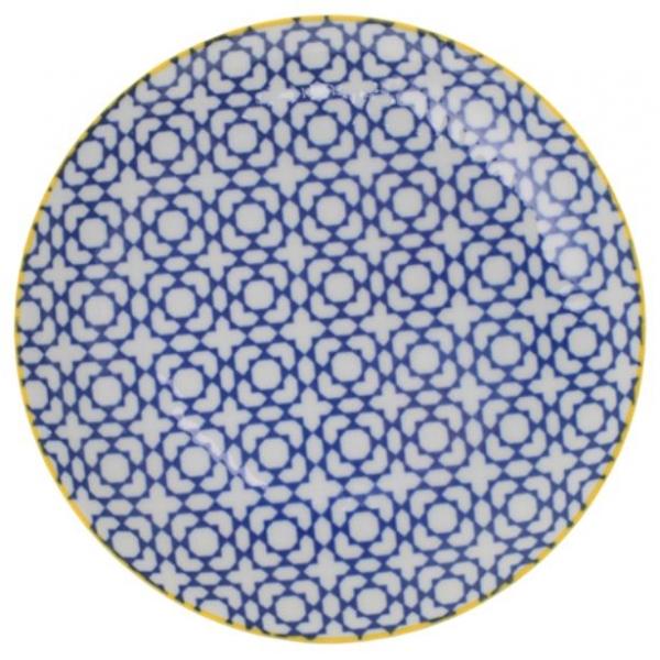 porcelaine-japonaise-assiette-ronde-geometrique-ni