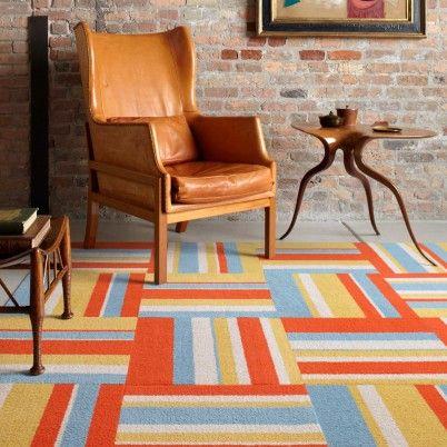 tapis couleur