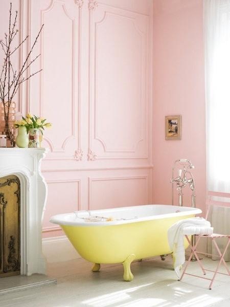 une salle de bain de fille cocon d co vie nomade. Black Bedroom Furniture Sets. Home Design Ideas
