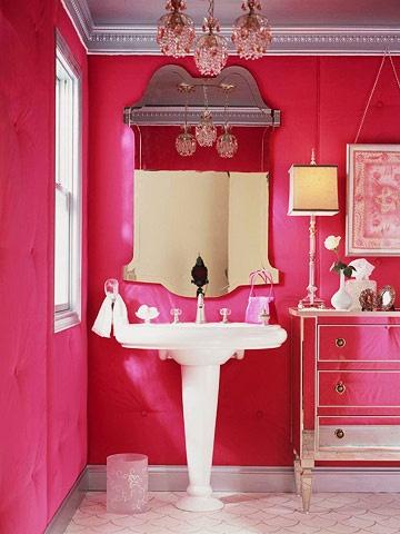 Salle de bain fille