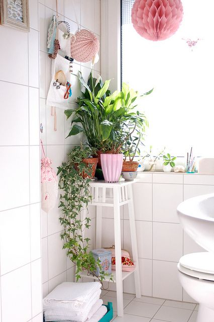 tendance salle de bain fille