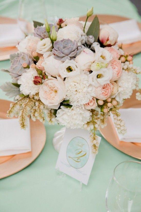 deco table fleur mariage