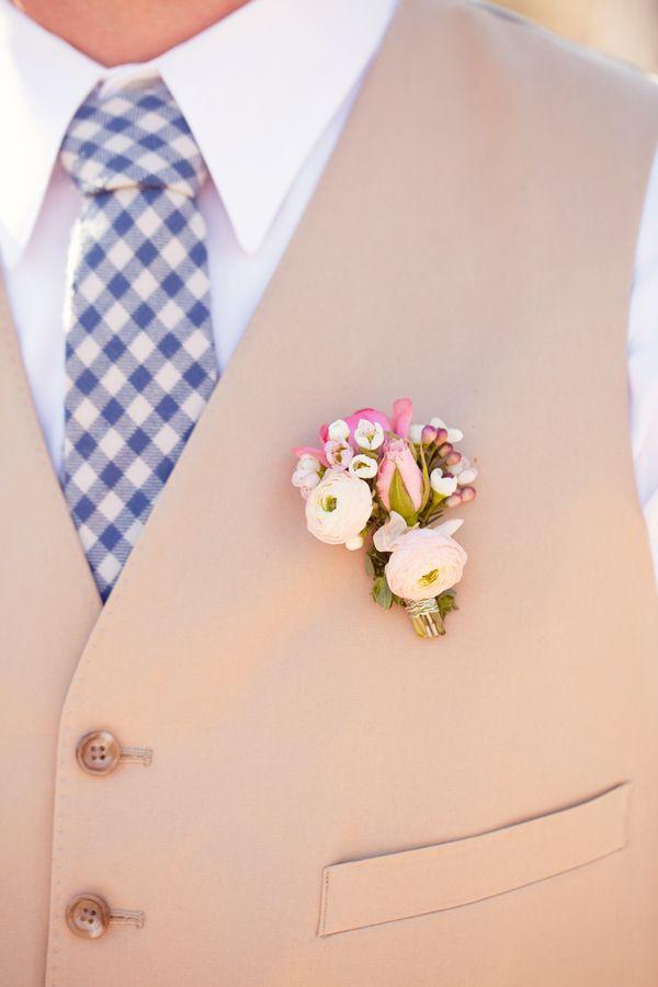 fleur homme mariage