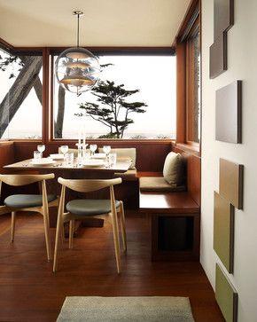 salle a manger bois vintage