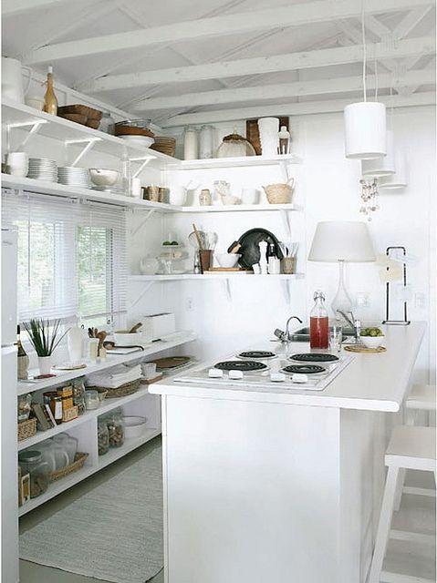 deco blanc cuisine