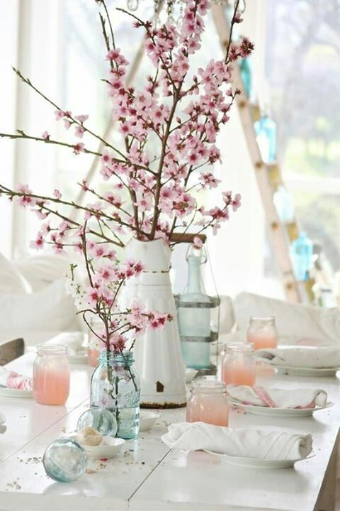 deco table printemps claire