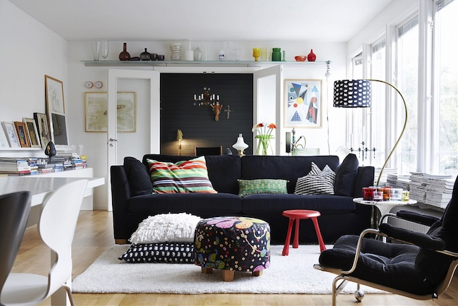 salon idee deco scandinave