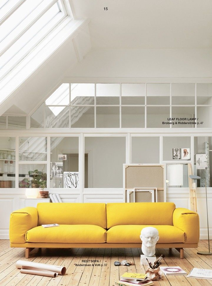 Inspiration d co on veut du jaune cocon de for Accessoire deco jaune