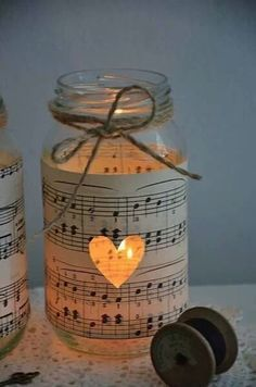 bougies musique mariage