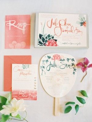 jolie papeterie mariage