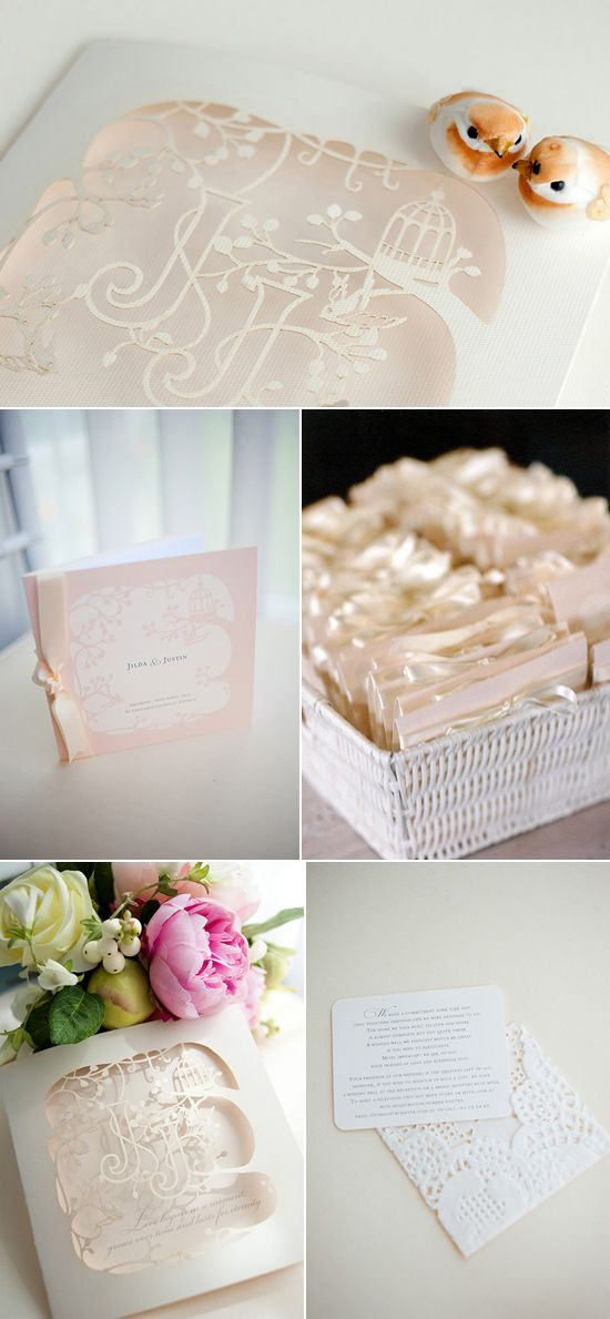 papeterie mariage dentelle