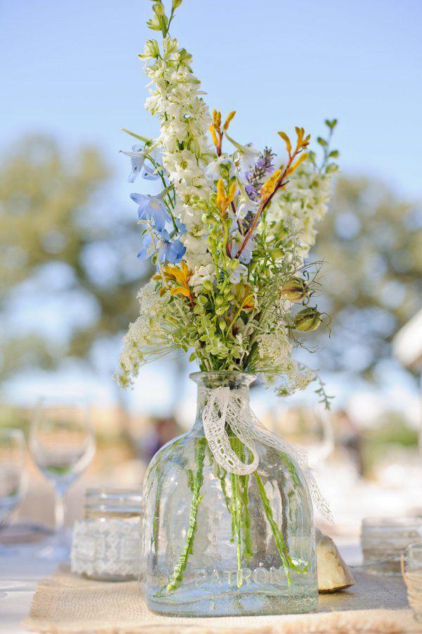 petite compo florale mariage