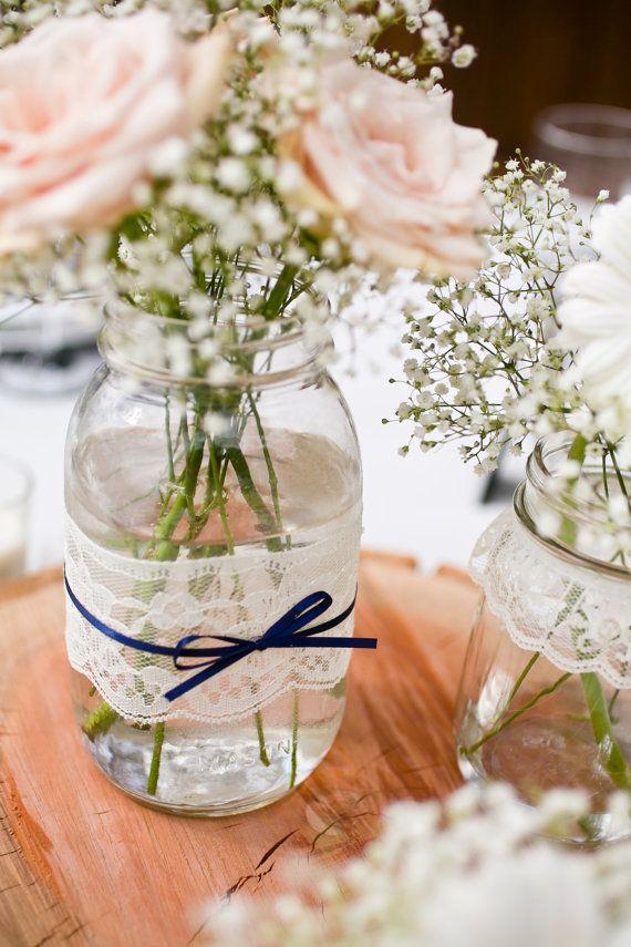 vase deco rose mariage