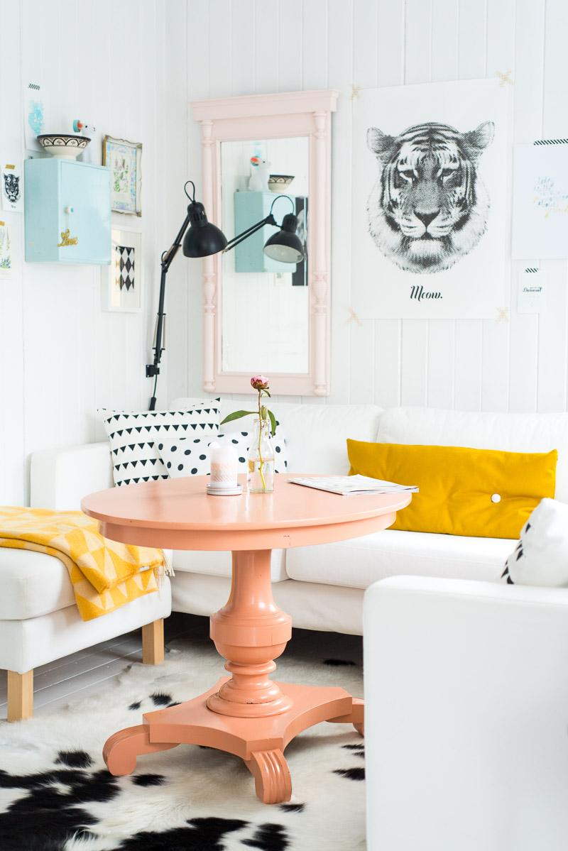 Visite un int rieur lumineux et color cocon de for Blog decoration interieur