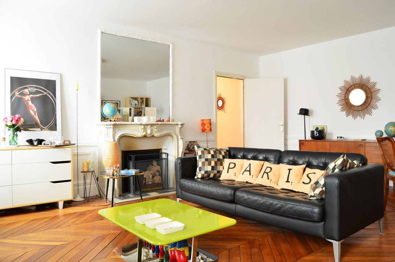Visite un appartement clectique cocon d co vie nomade for Idees decoration interieur appartement