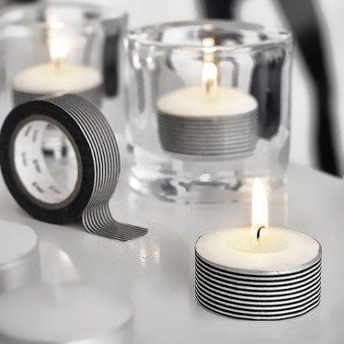 customiser des bougies chauffe plat