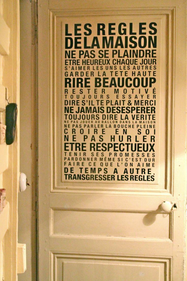 Deco Porte Message