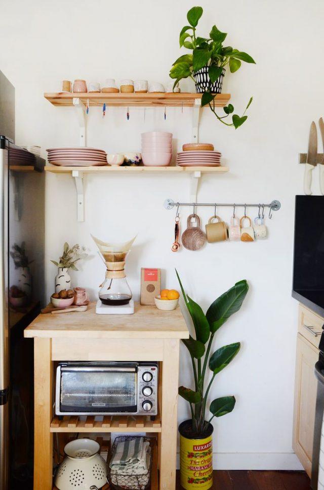 petite cuisine rangement idee