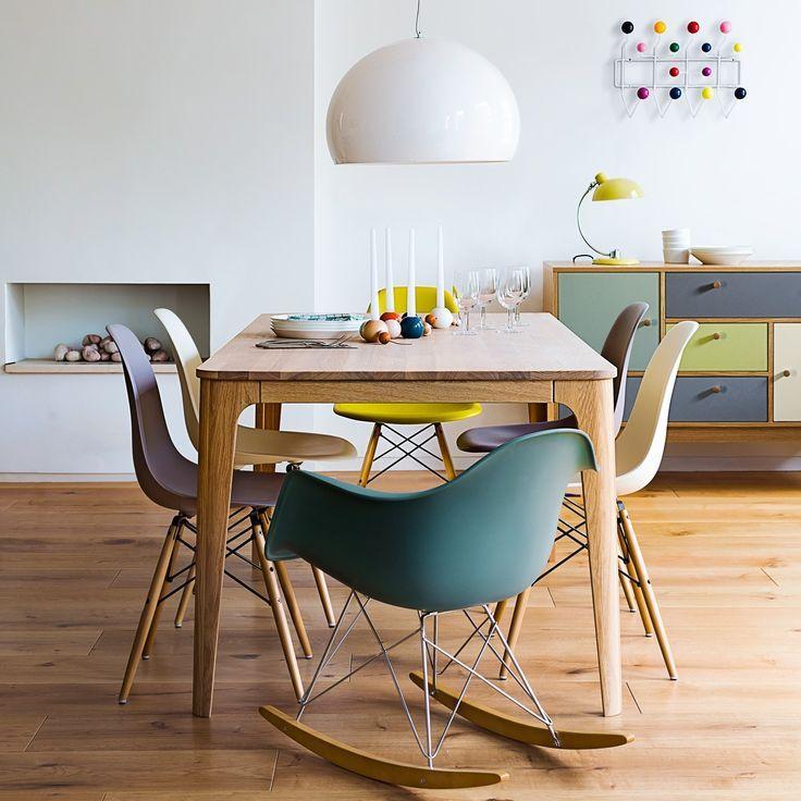 Des touches de couleurs dans la salle manger cocon de for Chaise de salle a manger hemisphere sud
