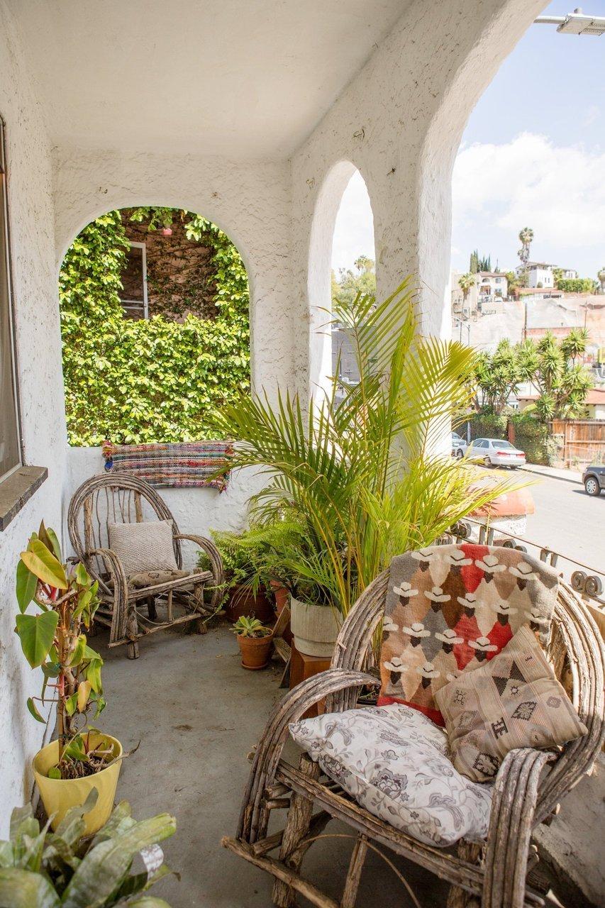 balcon sympa boheme