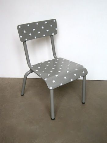 chaise deco enfant etoile