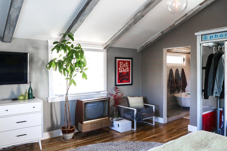 visite une maison avec le juste m lange de moderne et de vintage cocon d co vie nomade. Black Bedroom Furniture Sets. Home Design Ideas