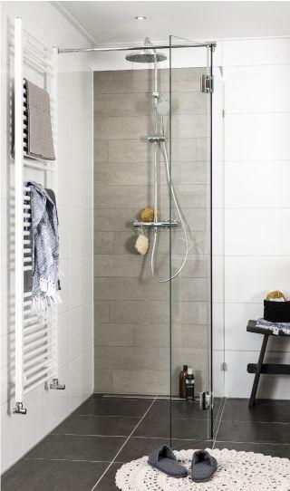 petite douche pour salle de bain