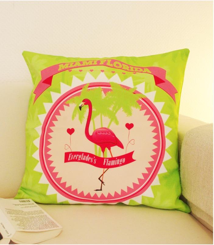 pink flamingo la fabrique a coussin